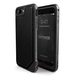 X-DORIA DEFENSE LUX IPHONE 7 PLUS BLACK LEATHER