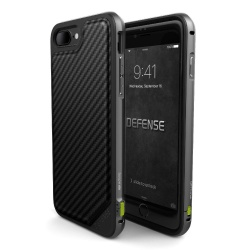 X-DORIA DEFENSE LUX IPHONE 7 PLUS BLACK CARBON
