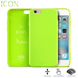 PURO ICON COVER - ETUI IPHONE 6S / IPHONE 6 (LIME GREEN)