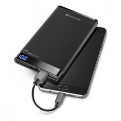 CELLULAR PowerBank 6000 mAh Slim czarny