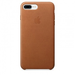 APPLE LEATHER CASE - SKÓRZANE ETUI IPHONE 7 PLUS (NATURALNY BRĄZ)