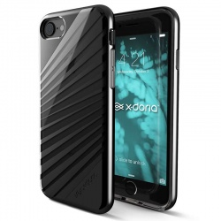 X-DORIA REVEL LUX - ETUI IPHONE 7 (BLACK RAYS)