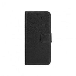 SLIM WALLET CASE NA IPHONE 5/5S CZARNY (CZARNY)