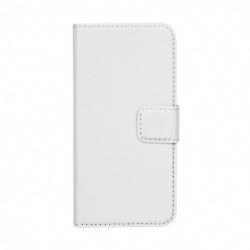 SLIM WALLET CASE NA IPHONE 5/5S BIALY (BIALY)