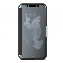 MOSHI STEALTHCOVER - ETUI IPHONE X (GUNMETAL GRAY)