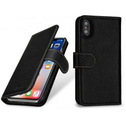 StilGut - Etui Apple iPhone X - Talis, black