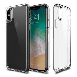PATCHWORKS LUMINA IPHONE X - CLEAR / CLEAR