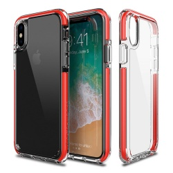 PATCHWORKS LUMINA EX IPHONE X RED / CLEAR