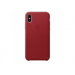 Apple skórzane etui do iPhone X - (PRODUCT)RED - czerwone