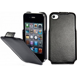StilGut - Etui Apple iPhone 4 / 4S - SlimCase, black