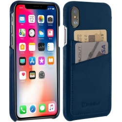 StilGut - Etui Apple iPhone X - Cover, niebieski