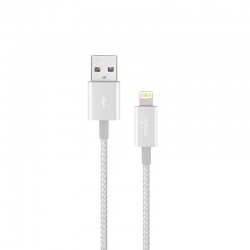 MOSHI INTEGRA - KABEL APPLE LIGHTNING MFI 1,2 M (JET SILVER)