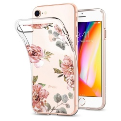 SPIGEN LIQUID CRYSTAL IPHONE 7/8 AQUARELLE ROSE