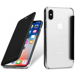 StilGut - Etui Apple iPhone X - Book, black NFC