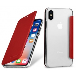 StilGut - Etui Apple iPhone X - Book, red NFC