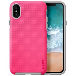 LAUT SHIELD - ETUI IPHONE X (PINK)