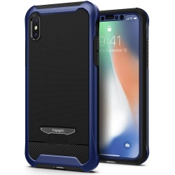 SPIGEN REVENTON IPHONE X/10 METALLIC BLUE