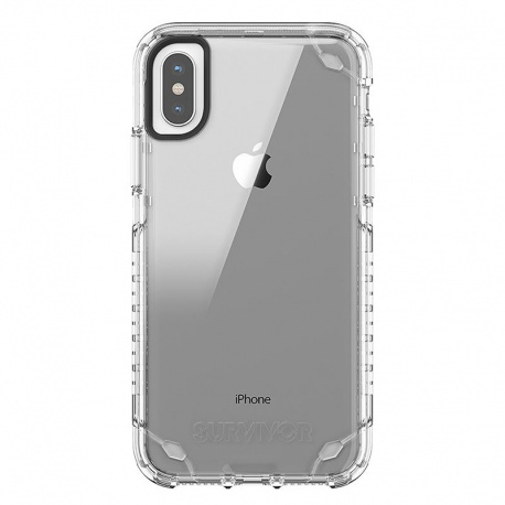 GRIFFIN SURVIVOR STRONG - ETUI IPHONE X (PRZEZROCZYSTY)