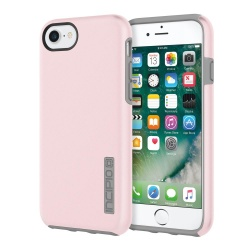 INCIPIO DUALPRO - ETUI IPHONE 7 / IPHONE 6S / IPHONE 6 (IRIDESCENT ROSE QUARTZ/GRAY)