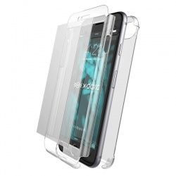 X-DORIA DEFENSE 360 - ETUI IPHONE 8 / 7 ZE SZKŁEM 9H NA EKRAN (CLEAR)