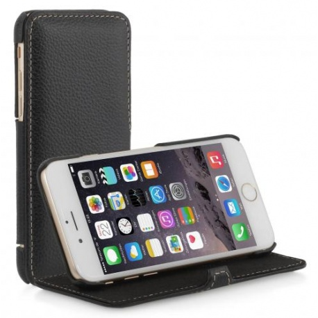 "STILGUT - ETUI DO NA APPLE IPHONE 6 4.7"" - BOOK V2, CZARNY"