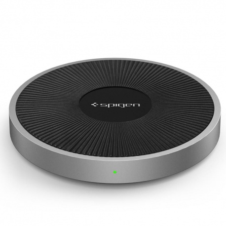 SPIGEN F306W WIRELESS CHARGER BLACK