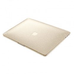 "SPECK SMARTSHELL GLITTER - OBUDOWA MACBOOK PRO 13"" (2017) / MACBOOK PRO 13"" (2016) (CLEAR WITH GOLD GLITTER)"
