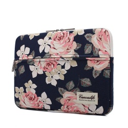 CANVASLIFE SLEEVE MACBOOK AIR/PRO 13 NAVY ROSE