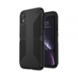 SPECK PRESIDIO GRIP - ETUI IPHONE XR (BLACK/BLACK)