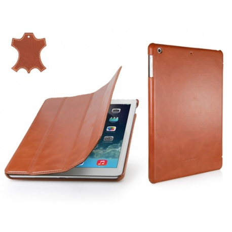 Etui Apple iPad Air - Couverture, cognac