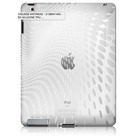 Gumowa obudowa Soft Cover clear - iPad 2/3/4 Katinkas