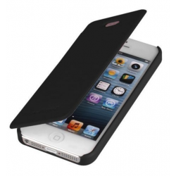 Etui iPhone 5/5S Mercury Techno Flip Cover Czarne
