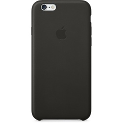 Skórzane etui iPhone 6 Leather Case - czerń
