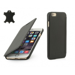 "STILGUT Etui Apple iPhone 6 4,7"" - Book, black nappa"