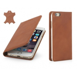 "STILGUT Etui Apple iPhone 6 4,7"" - Italian Wallet, terracotta"