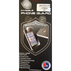 ORYGINALNA FOLIA OCHRONNA INVISIBLE PHONE GUARD BRUSHED ALUMINIUM- EKRAN I TYŁ - IPHONE 4/4S