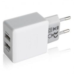 Xqisit Travel Charger USB 3,4Ah