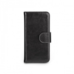 Xqisit Wallet Case Eman for iPhone 5S black