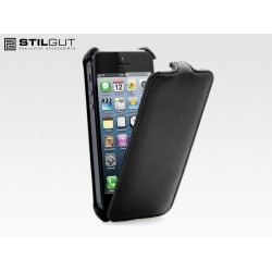 STILGUT etui Slim Case do iPhone 5, czarne