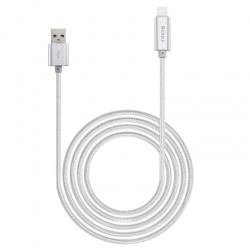 BENKS LATTE LIGHTNING CABLE SILVER
