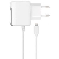 XQISIT Travel Charger EU 2,4A lightning white