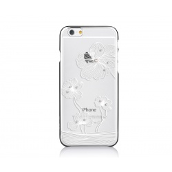 COMMA CRYSTAL FLORA 360 FOR IPHONE6S/6 SREBRNY